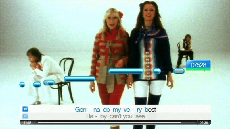 SingStar: Abba (PS2)  © Sony 2008   6/7