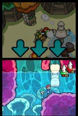 Mario & Luigi: Bowser's Inside Story (NDS)  © Nintendo 2009   3/3