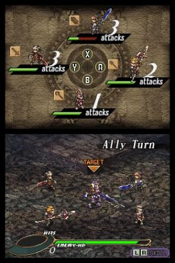 Valkyrie Profile: Covenant Of The Plume (NDS)   © Square Enix 2008    2/5