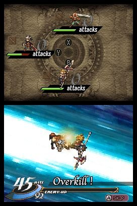 Valkyrie Profile: Covenant Of The Plume (NDS)   © Square Enix 2008    4/5