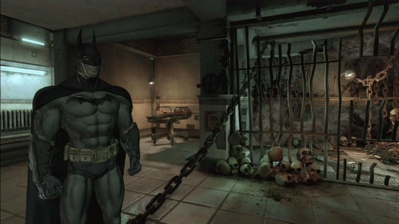 Batman: Arkham Asylum (PS3)   © Eidos 2009    16/44