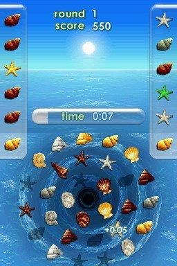Zenses Ocean  © Game Factory 2008  (NDS)   3/4