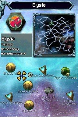 Puzzle Quest: Galactrix  © D3 2009  (NDS)   1/4