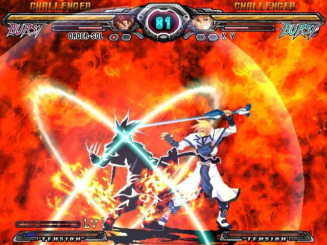 Guilty Gear XX: Accent Core (PS2)  © Aksys Games 2007   5/9