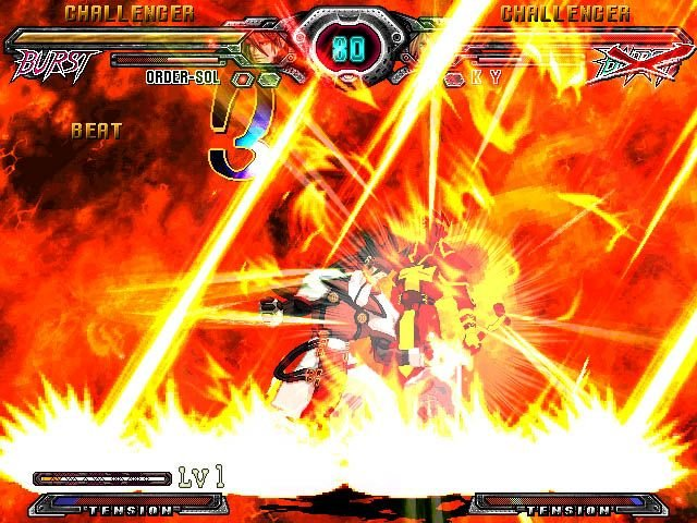 Guilty Gear XX: Accent Core (PS2)  © Aksys Games 2007   7/9