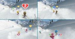 Family Ski & Snowboard  © Bandai Namco 2009  (WII)   2/5