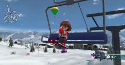 Family Ski & Snowboard  © Bandai Namco 2009  (WII)   3/5