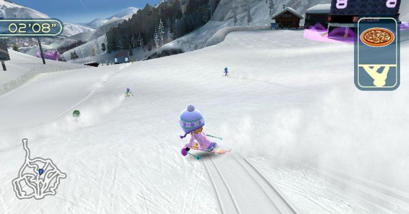 Family Ski & Snowboard  © Bandai Namco 2009  (WII)   4/5