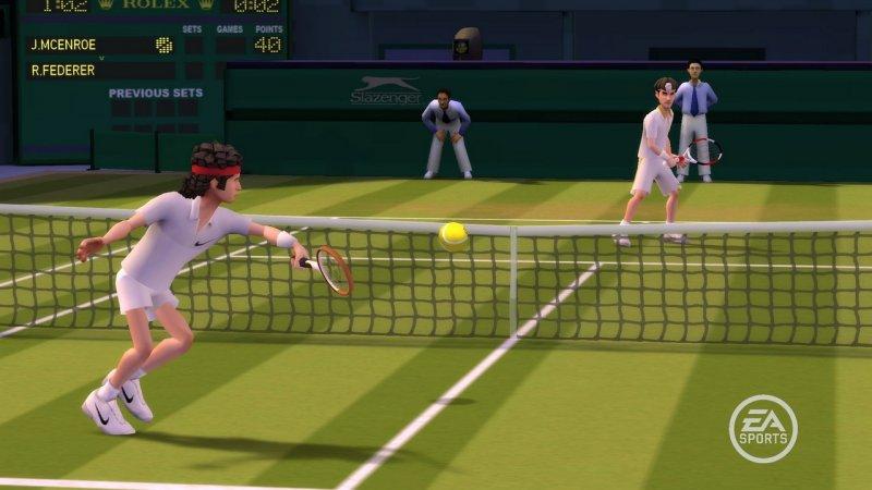Grand Slam Tennis (2009)  © EA 2009  (WII)   4/5