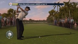 Tiger Woods PGA Tour 10   © EA 2009   (PS3)    1/3