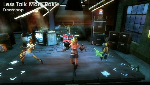 Rock Band Unplugged   © EA 2009   (PSP)    4/8