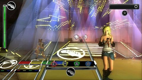Rock Band Unplugged   © EA 2009   (PSP)    5/8