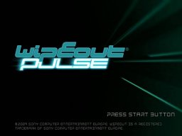 Wipeout Pulse (PS2)   © Sony 2009    1/3