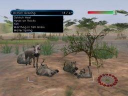 Wild Earth: African Safari (WII)  © Majesco 2008   3/3