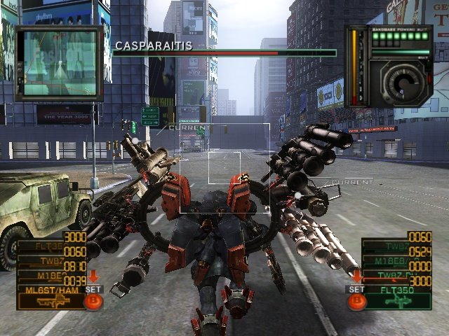 Metal Wolf Chaos (XBX)   © From Software 2004    7/18