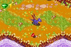 Crash & Spyro: Super Pack 1 (GBA)  © VU Games 2005   2/3