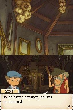 Professor Layton And Pandora's Box (NDS)  © Nintendo 2007   1/3