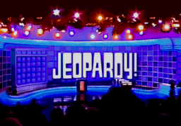 Jeopardy! (SMD)  © GameTek 1992   1/2