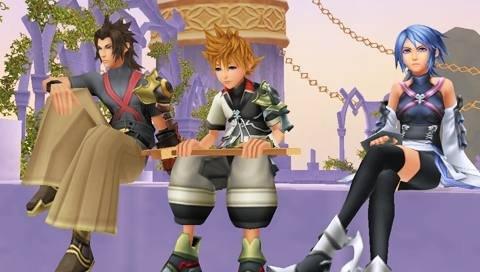 Kingdom Hearts: Birth By Sleep (PSP)  © Square Enix 2010   8/10
