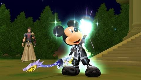 Kingdom Hearts: Birth By Sleep (PSP)  © Square Enix 2010   10/10
