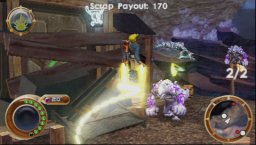 Jak And Daxter: The Lost Frontier (PSP)   © Sony 2009    2/6