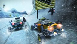 MotorStorm: Arctic Edge (PSP)  © Sony 2009   1/3
