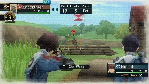 Valkyria Chronicles II (PSP)   © Sega 2010    4/9