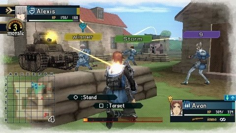 Valkyria Chronicles II (PSP)   © Sega 2010    6/9