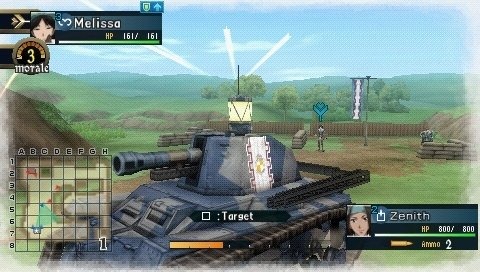 Valkyria Chronicles II (PSP)   © Sega 2010    8/9