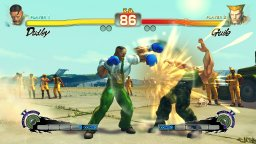 Super Street Fighter IV (X360)  © Capcom 2010   1/3