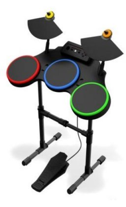 Wireless Drum Kit [Guitar Hero] (PS3)   © Activision     1/1