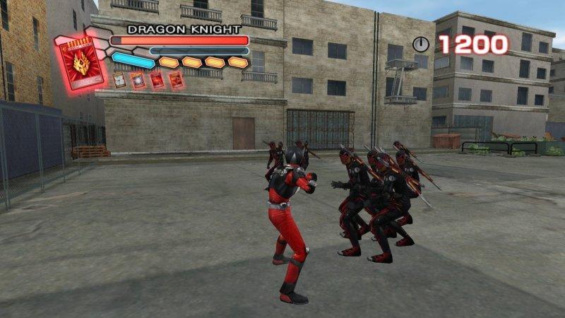 Kamen Rider: Dragon Knight (WII)  © D3 2009   7/8