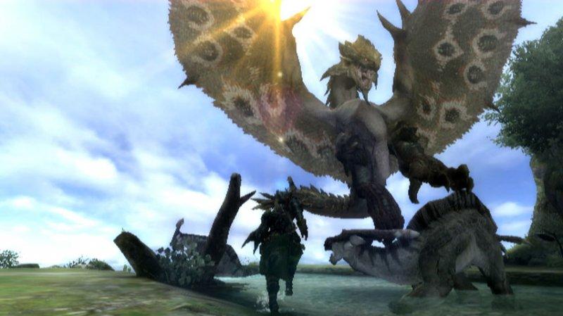Monster Hunter Tri (WII)  © Capcom 2009   4/5