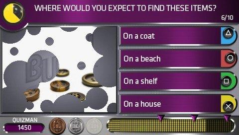 Buzz! Quiz World (PSP)  © Sony 2009   5/5