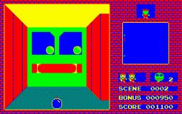3-D Bomberman (PC6)  © Hudson 1984   2/2