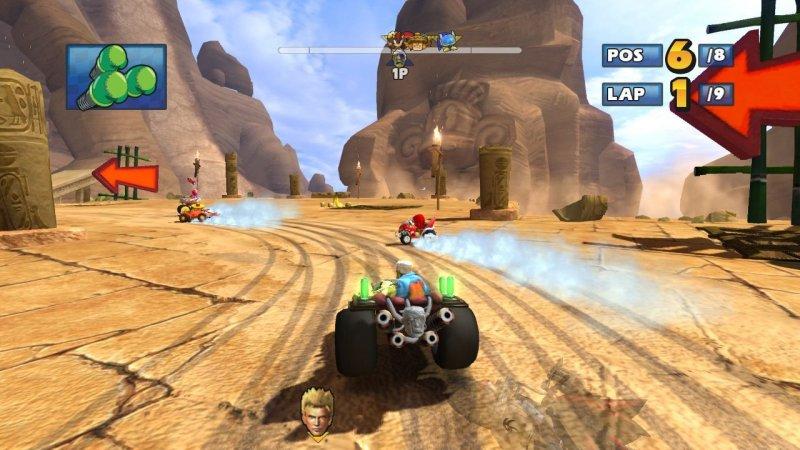 Sonic & Sega All-Stars Racing (PS3)  © Sega 2010   6/8