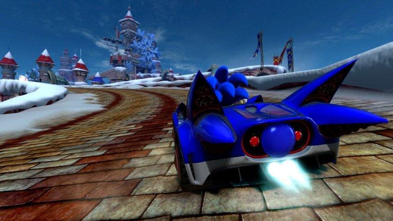 Sonic & Sega All-Stars Racing (PS3)  © Sega 2010   8/8