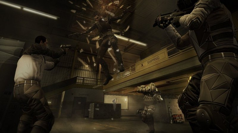 Deus Ex: Human Revolution (PS3)  © Eidos 2011   7/12