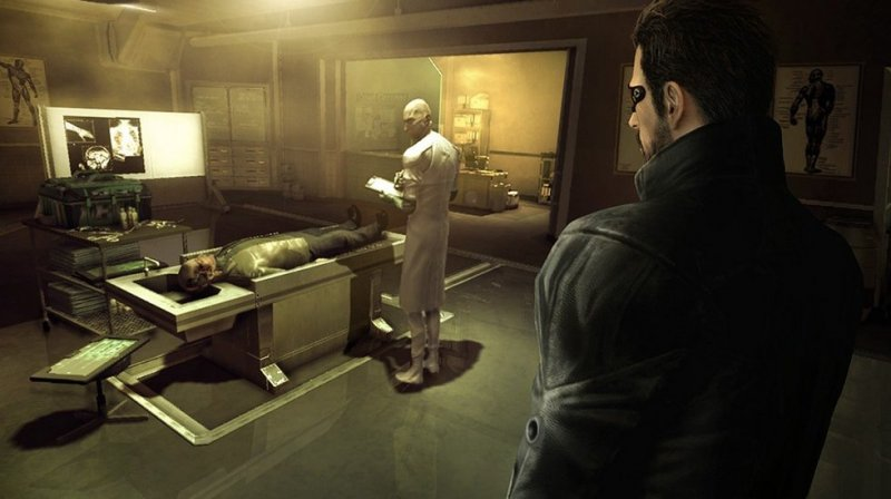 Deus Ex: Human Revolution (PS3)  © Eidos 2011   8/12