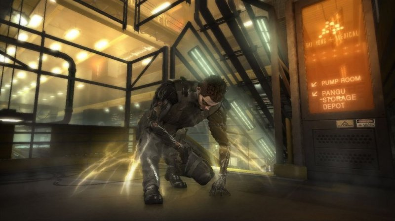 Deus Ex: Human Revolution (PS3)  © Eidos 2011   9/12