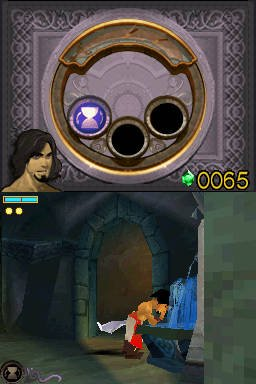 Prince Of Persia: The Forgotten Sands (NDS)   © Ubisoft 2010    2/2