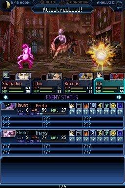 Shin Megami Tensei: Strange Journey (NDS)  © Atlus 2009   5/6