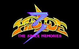 Hydlide 3: The Space Memories (X1) &nbsp; &copy; T&E Soft 1987 &nbsp;  1/1