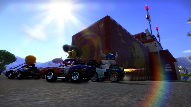 ModNation Racers (PS3)   © Sony 2010    10/11