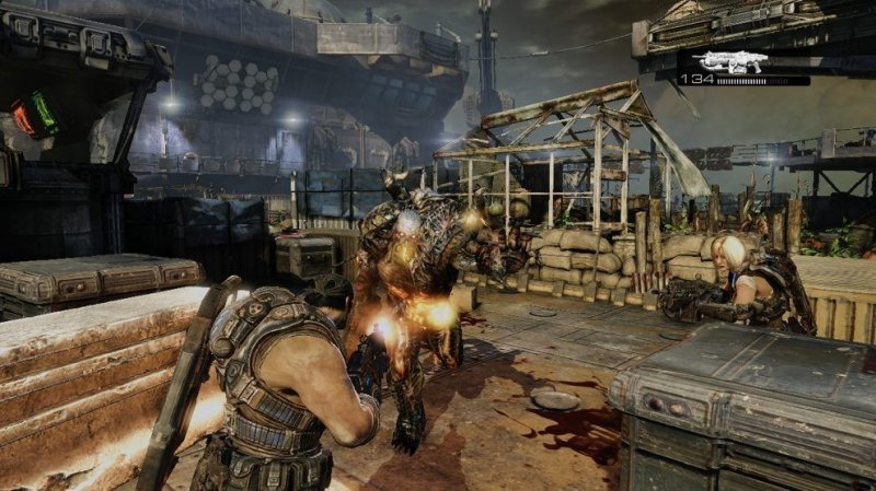 Gears Of War 3 (X360)  © Microsoft 2011   4/4