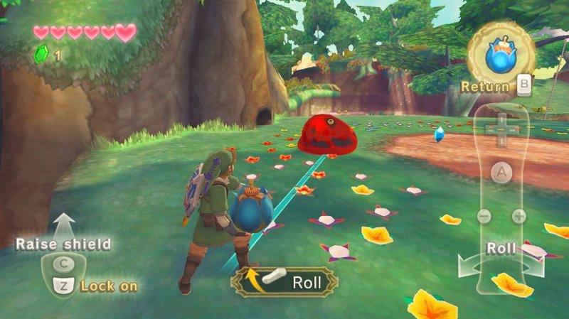 The Legend Of Zelda: Skyward Sword (WII)  © Nintendo 2011   4/12