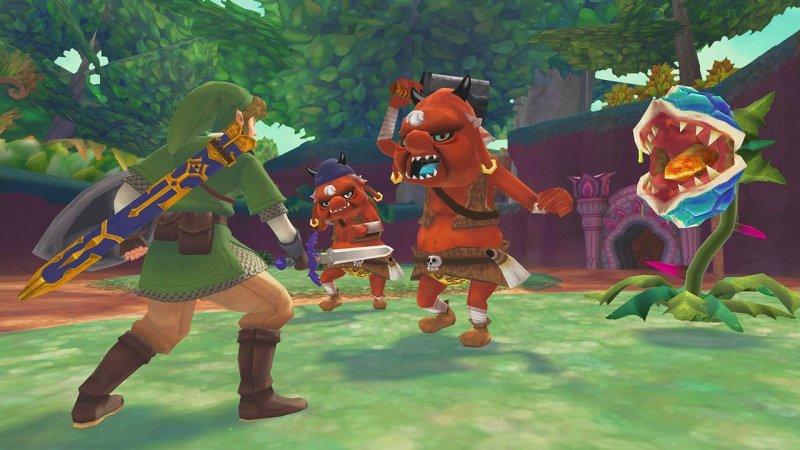 The Legend Of Zelda: Skyward Sword (WII)  © Nintendo 2011   6/12