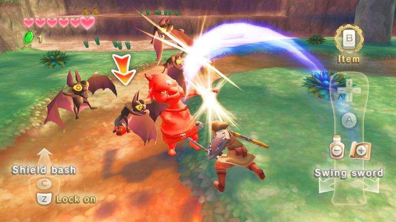 The Legend Of Zelda: Skyward Sword (WII)  © Nintendo 2011   8/12