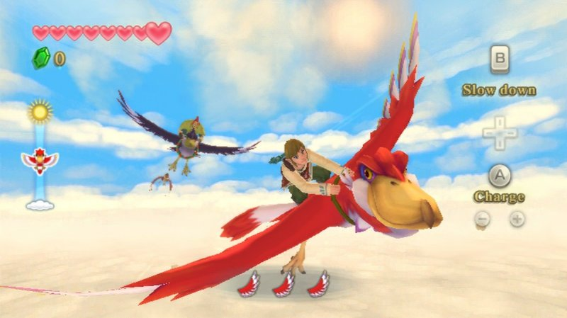 The Legend Of Zelda: Skyward Sword (WII)  © Nintendo 2011   11/12