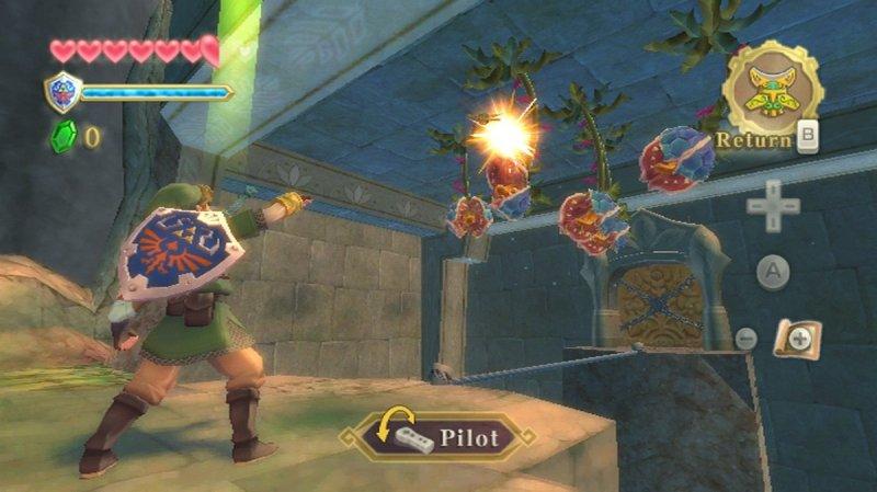 The Legend Of Zelda: Skyward Sword (WII)  © Nintendo 2011   12/12